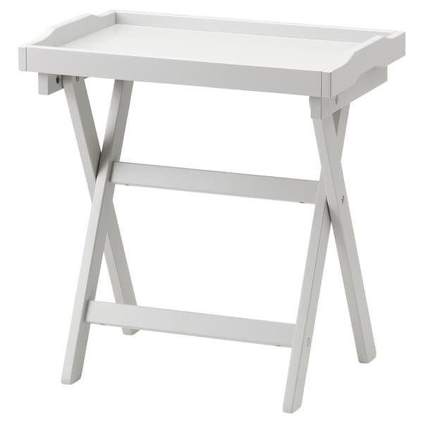 MARYD stolek s podnosem šedá 58 cm 38 cm 58 cm