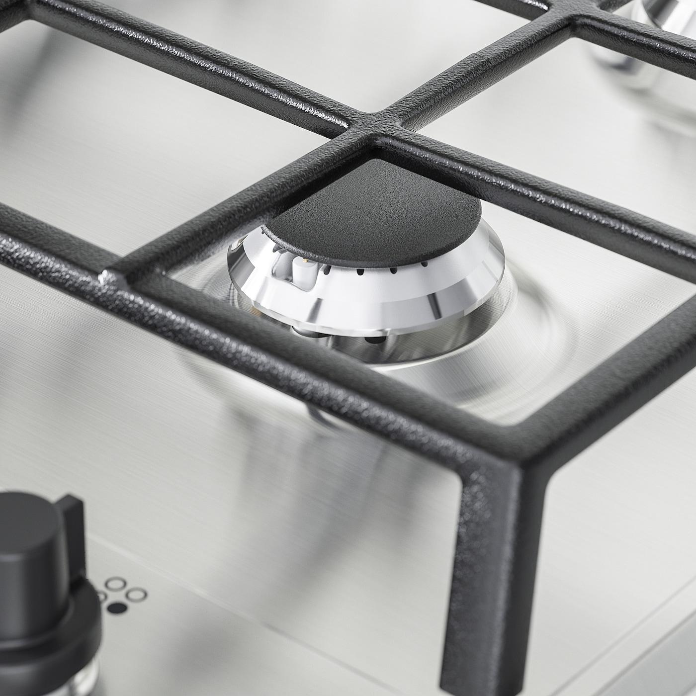 MATMÄSSIG Plynová varná deska, nerezavějící ocel, 60 cm
