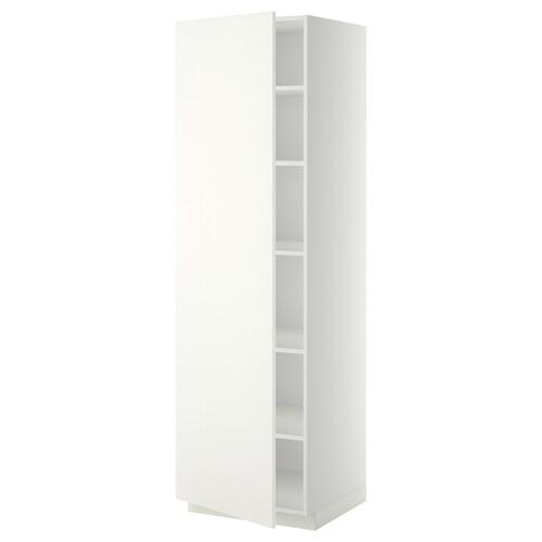 IKEA METOD Vysoká skříň s policemi