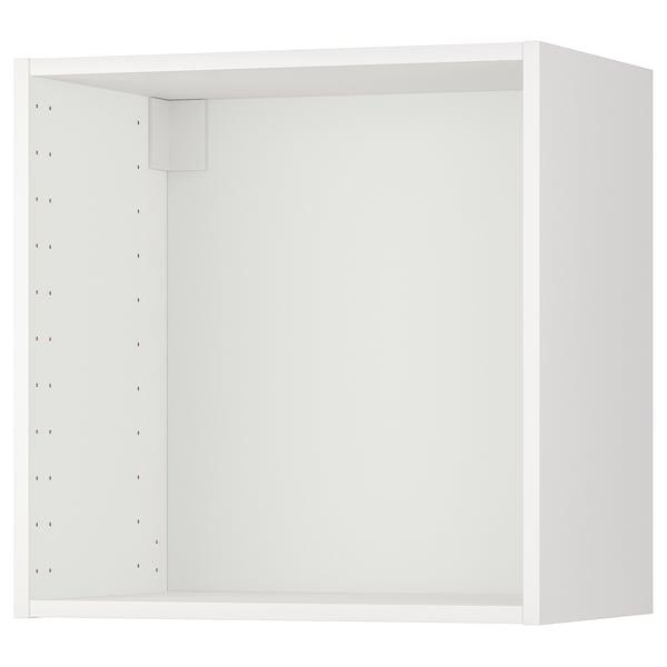 METOD Korpus nastěnné skříňky, bílá, 60x37x60 cm