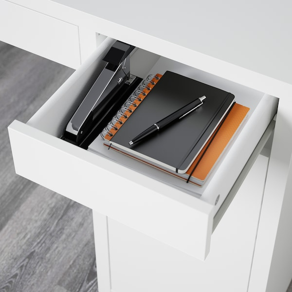 MICKE psací stůl bílá 105 cm 50 cm 75 cm 50 kg