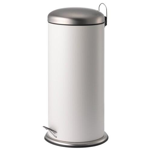 MJÖSA odpadkový koš s pedálkem bílá 68 cm 33.5 cm 30 l