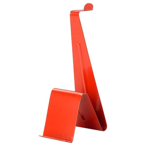 MÖJLIGHET stojan na tablet a sluchátka červená