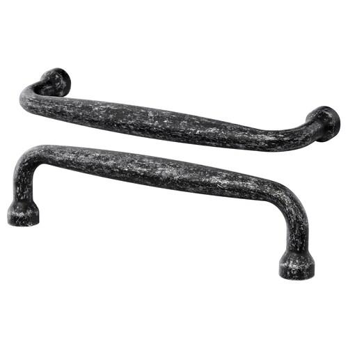 MÖLLARP úchytka černá 106 mm 9 mm 28 mm 5 mm 96 mm 2 ks