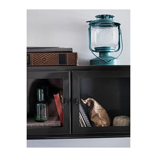MÖRKT Lucerna na čajovou svíčku IKEA Vhodné pro vnitřní i venkovní použití.