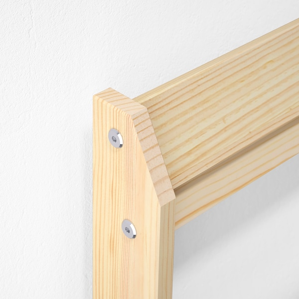NEIDEN Rám postele, borovice, 90x200 cm
