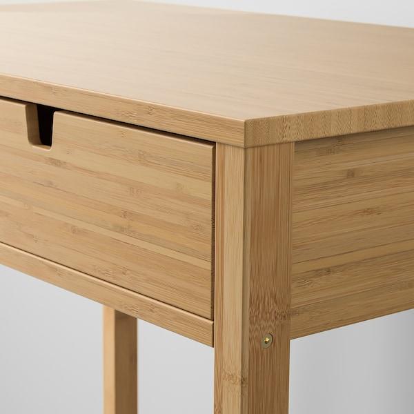 NORDKISA toaletní stolek bambus 76 cm 47 cm 79 cm