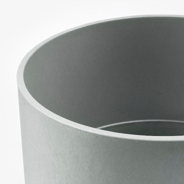 NYPON Květináč, vn./venkovní šedá, 32 cm