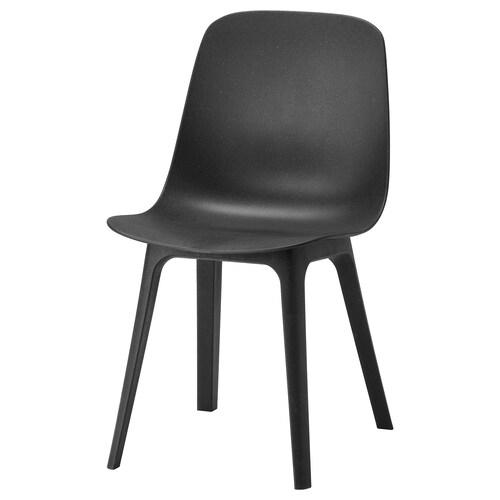 ODGER židle antracit 110 kg 45 cm 51 cm 81 cm 45 cm 41 cm 43 cm