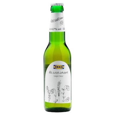 ÖL LJUS LAGER Pivo, ležák 4,7 %, 330 ml