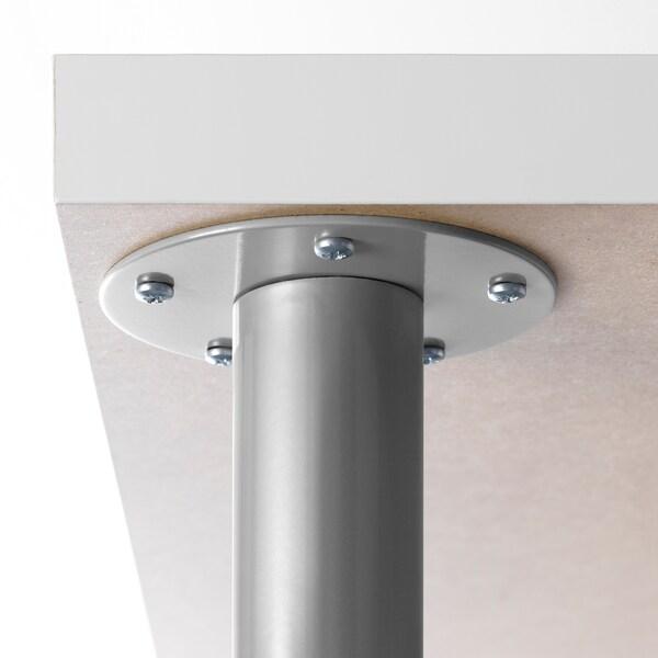 OLOV noha, nastavitelná stříbrná 60 cm 90 cm 13 kg