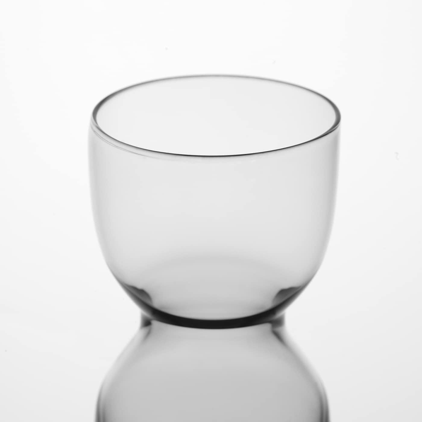 OMTÄNKSAM Váza, světle šedá, 30 cm