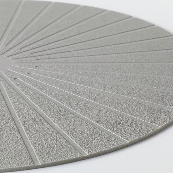PANNÅ Prostírání, šedá, 37 cm