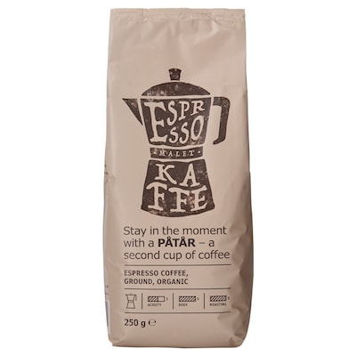 PÅTÅR Káva espreso, bio/Certifikát UTZ/100% káva arabika