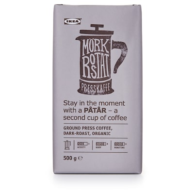PÅTÅR Káva presso, tmavě pražená, bio/Certifikát UTZ/100% káva arabika