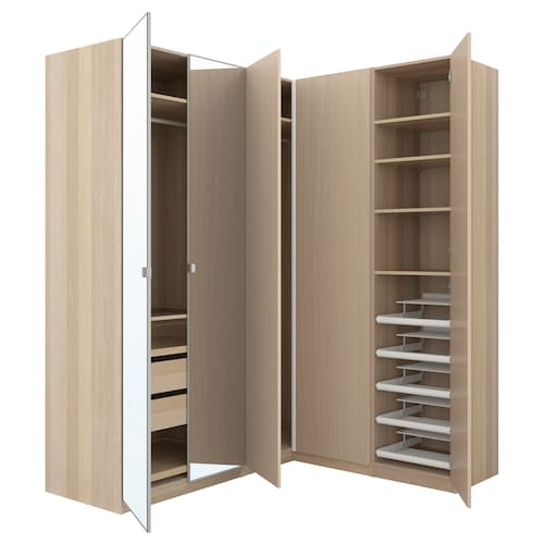 IKEA PAX Rohová šatní skříň
