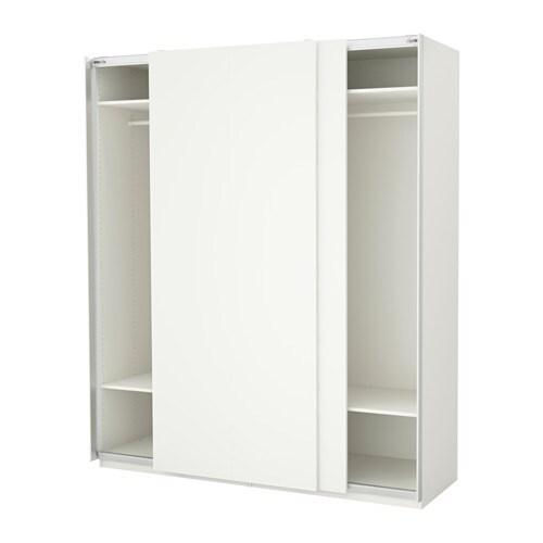PAX Šatní skříň - 200x66x236 cm, - - IKEA
