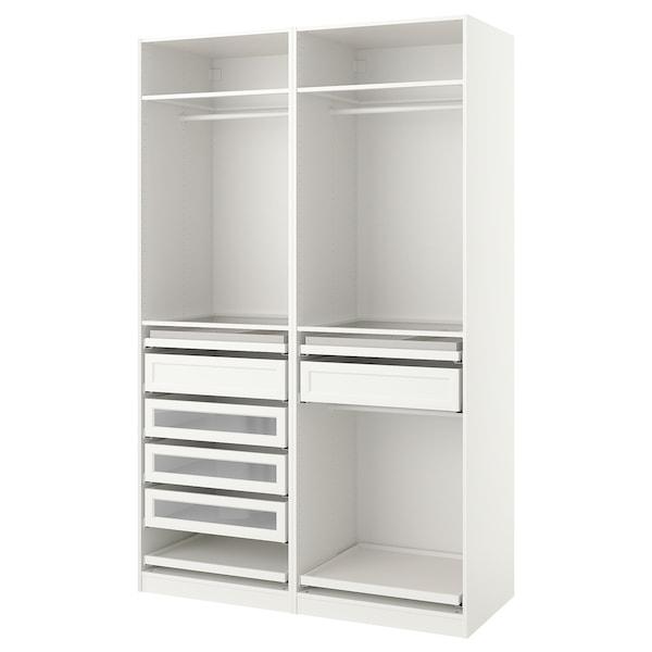 PAX šatní skříň bílá 150.0 cm 58.0 cm 236.4 cm