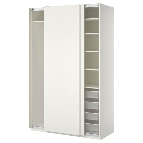 PAX šatní skříň bílá/Hasvik bílá 150 cm 66 cm 236.4 cm