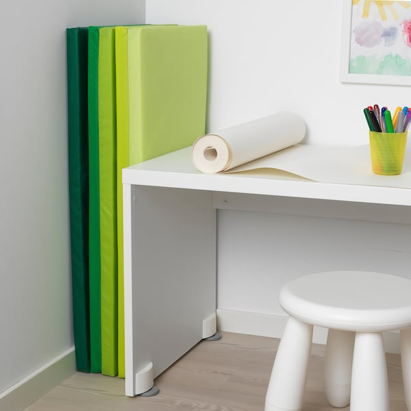 PLUFSIG skládací podložka na cvičení zelená 185 cm 78 cm 3.2 cm