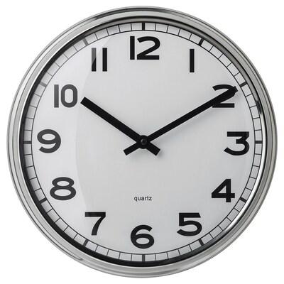 PUGG Nástěnné hodiny, nerezavějící ocel