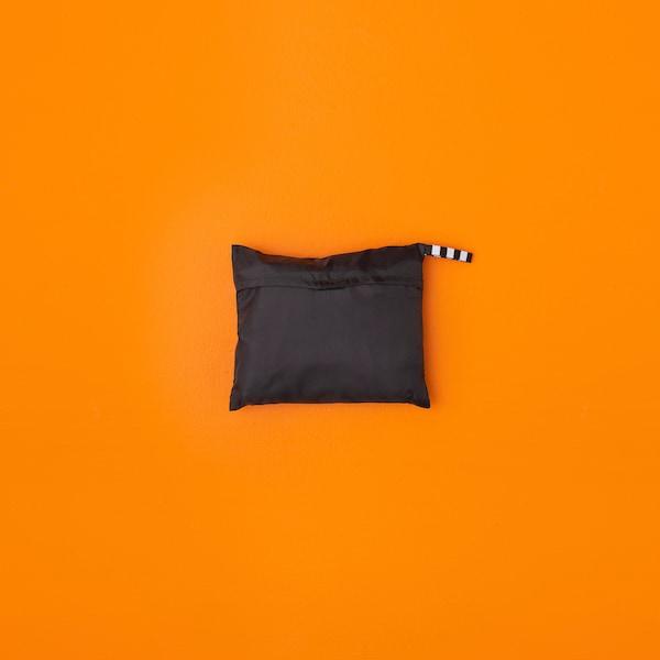 RÄCKLA Taška, skládací, černá, 48x36 cm/20 l