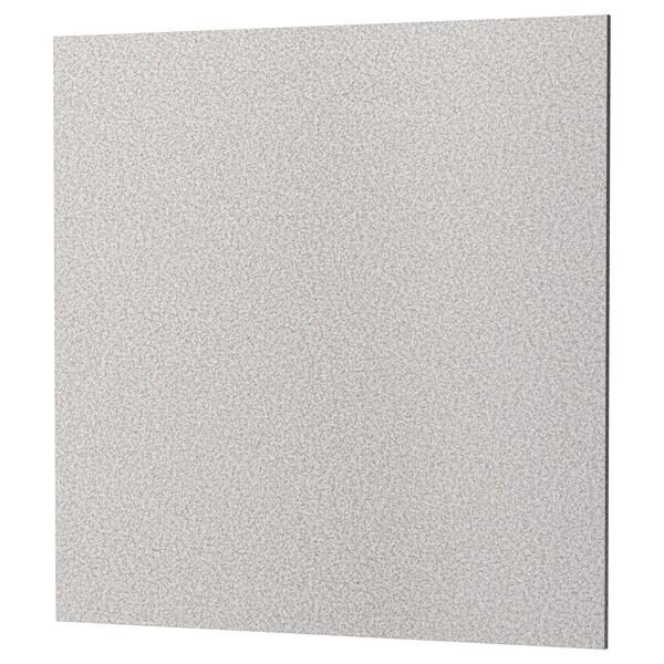 RÅHULT Nástěnný panel na míru, světle šedá vzor kámen/křemen, 1 m²x1.2 cm