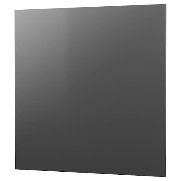 RÅHULT Nástěnný panel na míru, tmavě šedá vzor kámen/křemen, 1 m²x1.2 cm