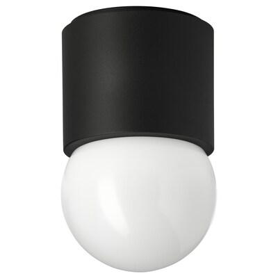 RAKSTA stropní/nástěnná lampa LED černá 7.6 W 2700 kelvin 660 lm 15 cm 9.5 cm