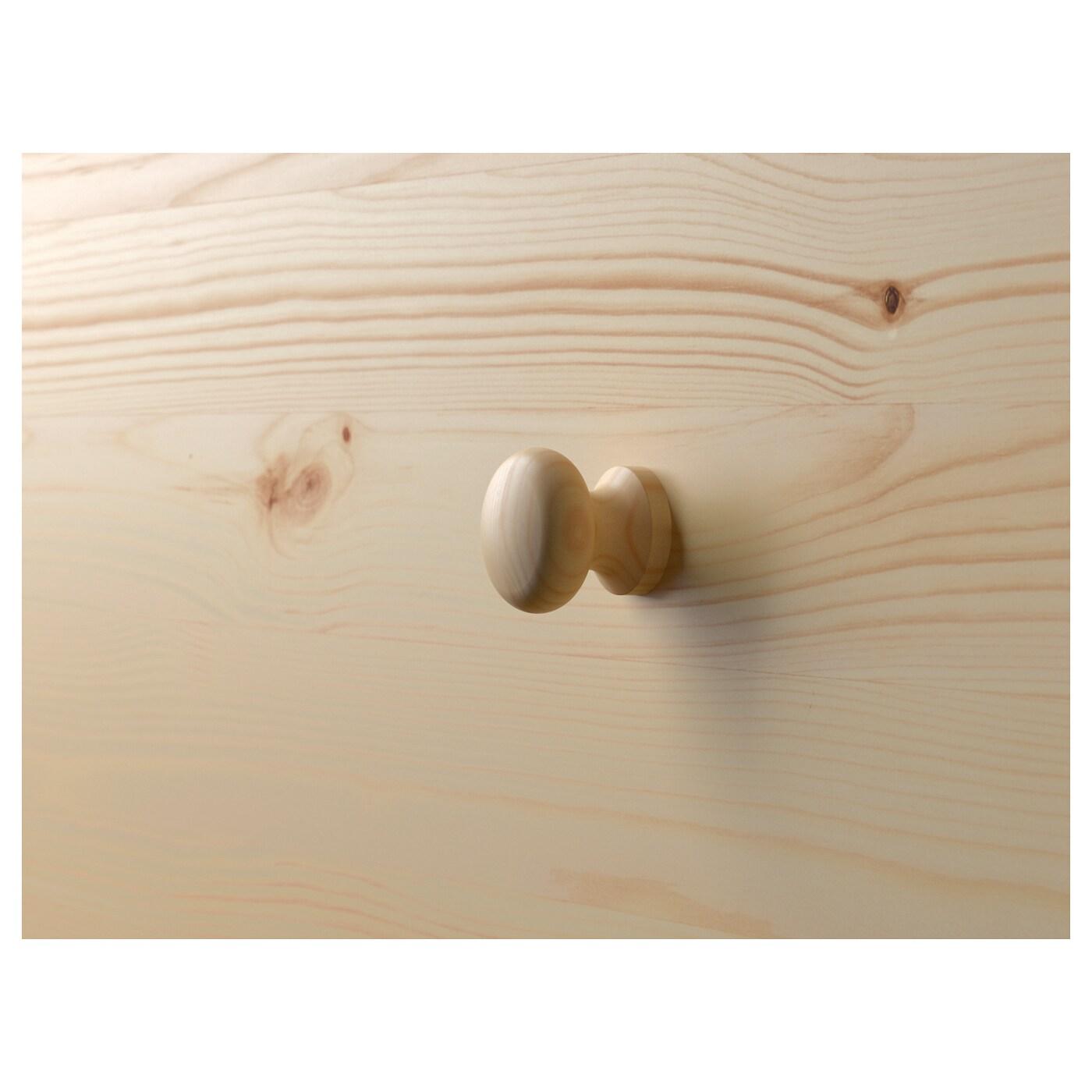 RAST komoda se 3 zásuvkami borovice 62 cm 30 cm 70 cm 25 cm