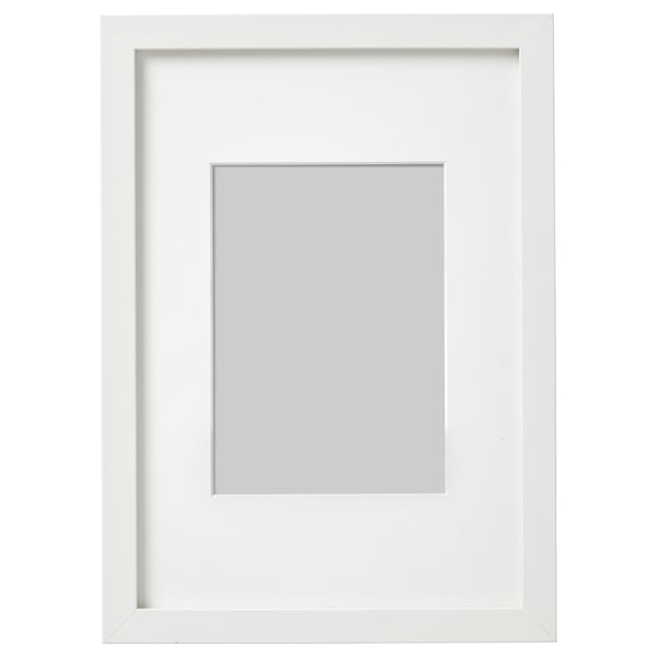 RIBBA Rám, bílá, 21x30 cm