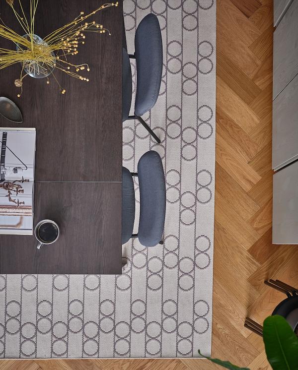 RINDSHOLM koberec, hladce tkaný béžová 230 cm 160 cm 5 mm 3.68 m² 1680 g/m²