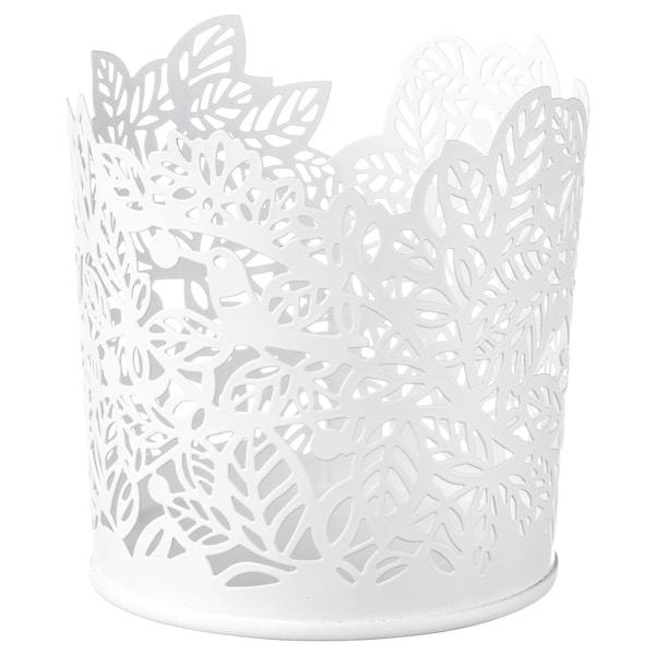 SAMVERKA svícen na čaj. svíčky bílá 8 cm 8 cm