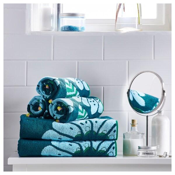 SANDVILAN osuška modrá/barevné 140 cm 70 cm 0.98 m² 570 g/m²