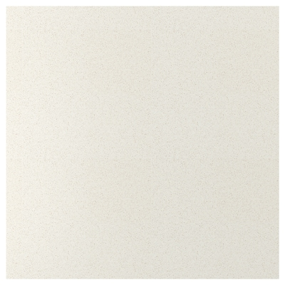 SIBBARP Nástěnný panel na míru, bílá vzor kámen/laminát, 1 m²x1.3 cm
