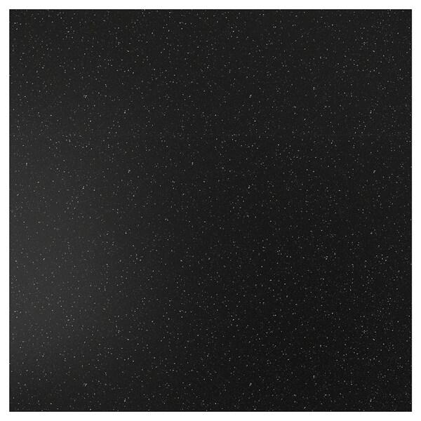 SIBBARP Nástěnný panel na míru, černá minerální efekt/laminát, 1 m²x1.3 cm