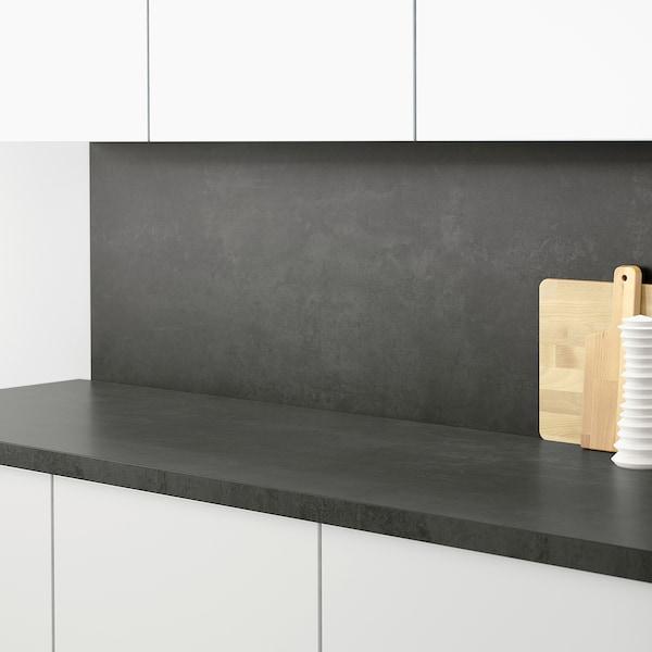 SIBBARP Nástěnný panel na míru, imitace betonu/laminát, 1 m²x1.3 cm
