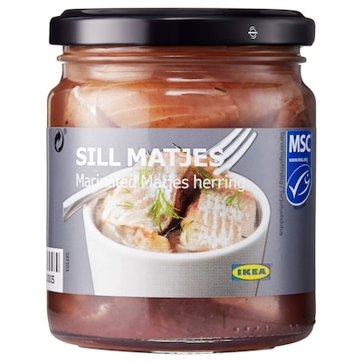 SILL MATJES Filety ze sledě, 250 g