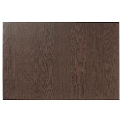 SINARP Čelo zásuvky, hnědá, 60x40 cm