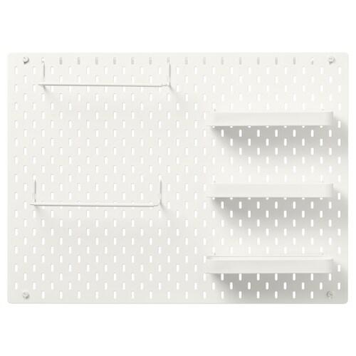 IKEA SKÅDIS Kombinace s dírkovanou deskou