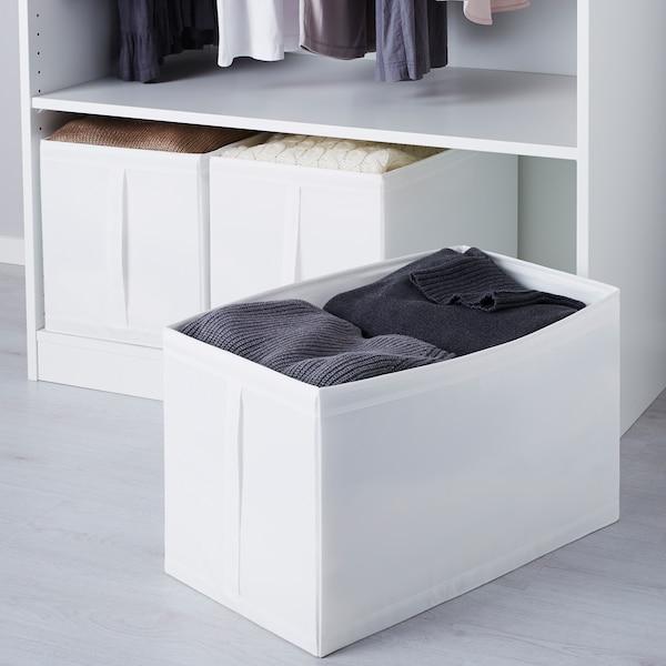 SKUBB krabice bílá 31 cm 55 cm 33 cm 3 ks