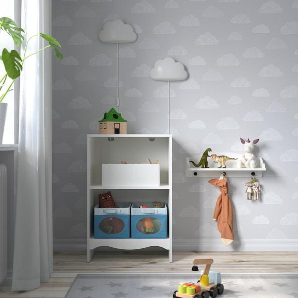SMÅGÖRA Přebalovací stůl/knihovna, bílá