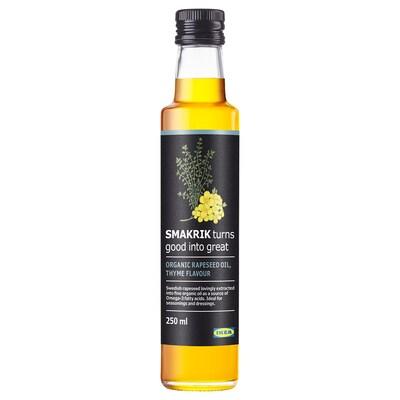 SMAKRIK řepkový olej tymián bio 250 ml