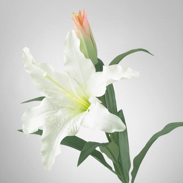 SMYCKA umělé květiny lilie/bílá 85 cm