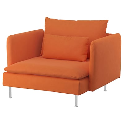 SÖDERHAMN Křeslo, Samsta oranžová