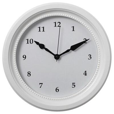 SÖNDRUM Nástěnné hodiny, bílá