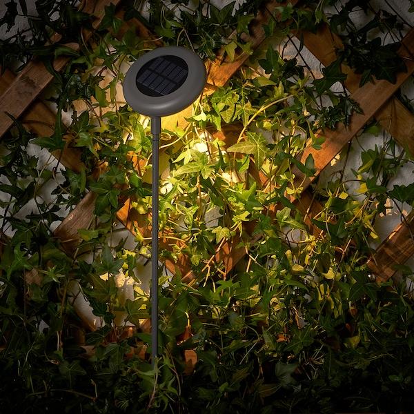 SOLVINDEN Solární osvětlení LED, venkovní/šedá