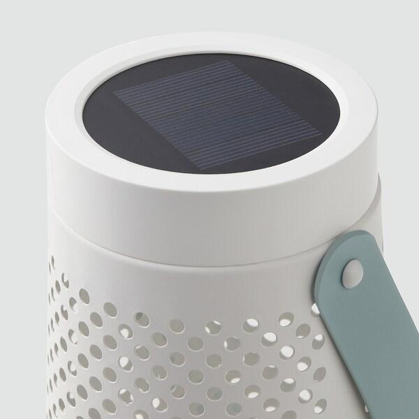 SOLVINDEN Solární stolní lampa LED, kuželový tvar bílá, 27 cm