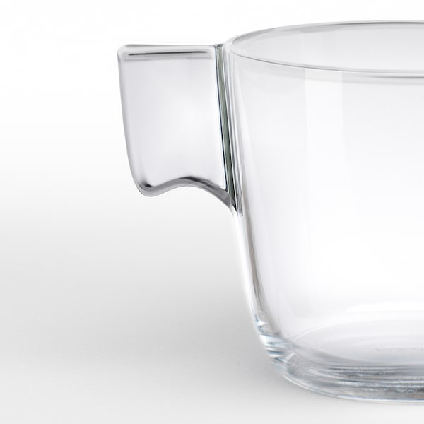 STELNA hrnek čiré sklo 7 cm 23 cl