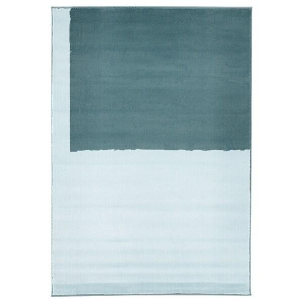 STILLEBÄK koberec, nízký vlas modrá 195 cm 133 cm 13 mm 2.59 m² 2050 g/m² 700 g/m² 10 mm 10 mm